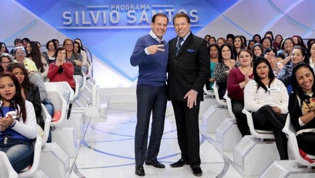 """Em entrevista, Silvio Santos chama Doria de """"boyzinho"""" e sugere chapa com Bolsonaro"""