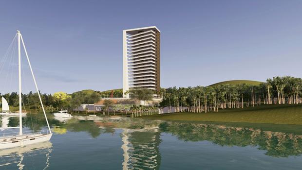 MP-GO abre investigação de construção de prédio à beira do Lago das Brisas