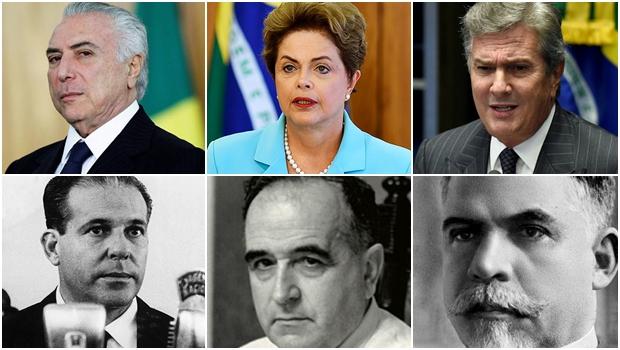 Uma pequena e instrutiva história de como os presidentes da República caem no Brasil