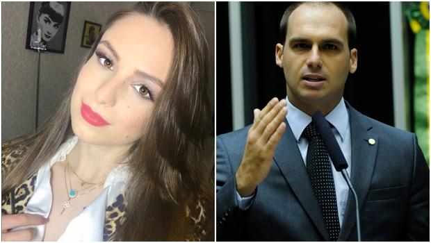 Suposta briga entre filho de Bolsonaro e ex-namorada bomba na internet. Entenda polêmica