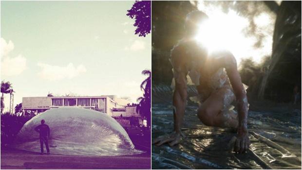 PM de Brasília prende artista que fazia apresentação nu em frente ao Museu Nacional
