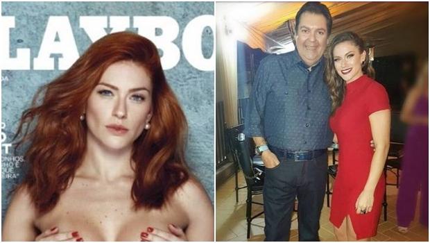 """Repórter do """"Faustão"""" e ex-âncora da Band, Renata Longaray posa nua para a Playboy"""