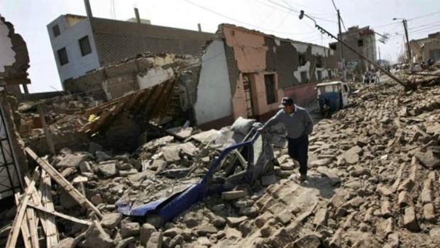 Forte terremoto atinge costa sul do Peru e deixa um morto e 65 feridos