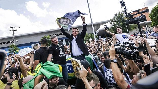 No RJ, Bolsonaro supera Lula e lidera disputa à Presidência da República