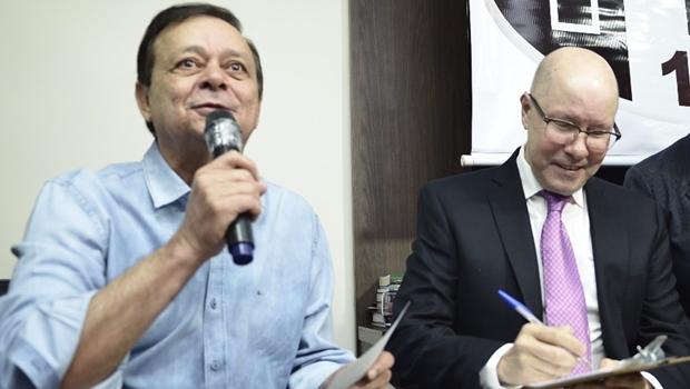 Jovair Arantes diz que Demóstenes Torres fica na chapa governista ou o PTB não a apoia