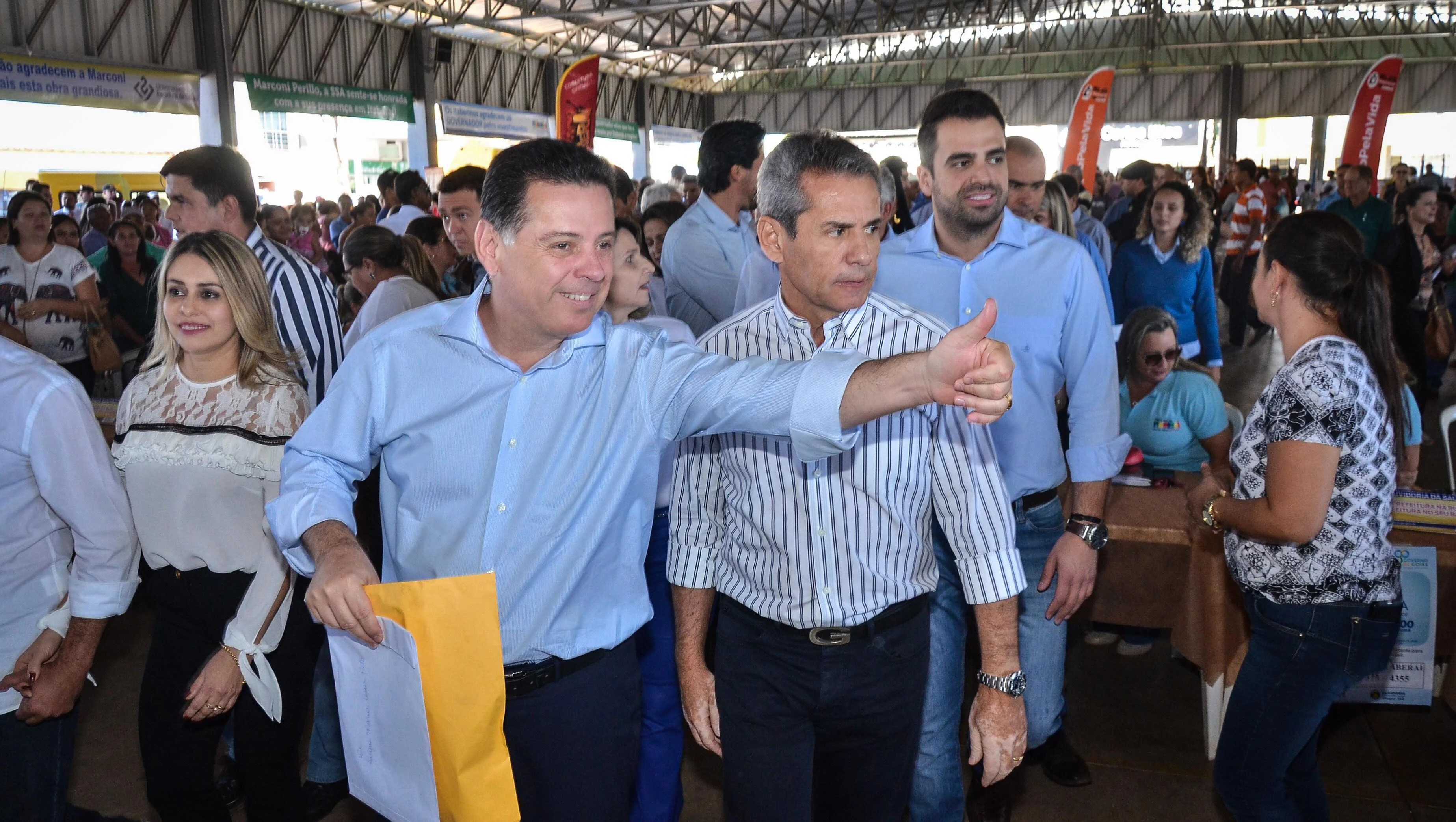 Goiás na Frente turbina Marconi e a base aliada para 2018