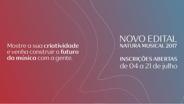 Natura Musical destina R$ 5,6 mi para patrocínio de artistas. Veja como participar