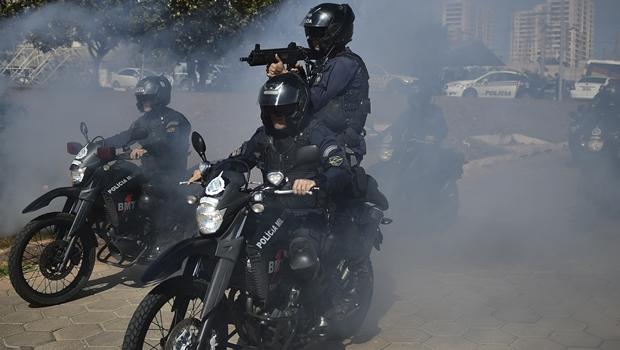 PM-DF cria Batalhão de moto patrulhamento