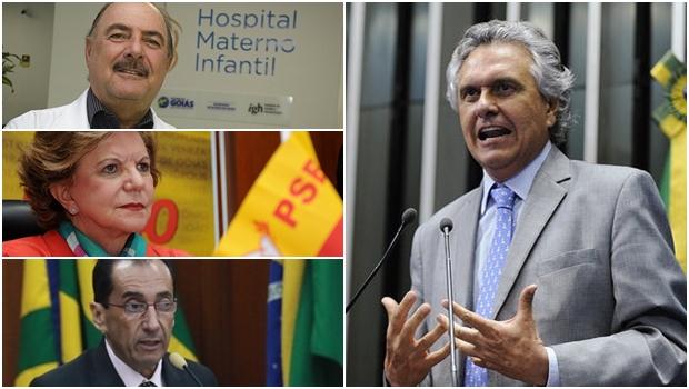 Ronaldo Caiado começa a definir nomes para a chapa majoritária: Lúcia Vânia, Kajuru e Calil