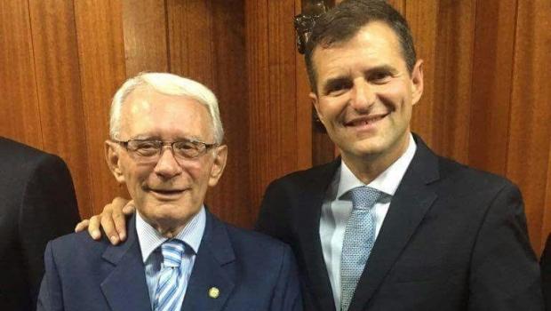 Marconi lamenta morte de Mário Roriz, pai do deputado federal Marcos Abrão
