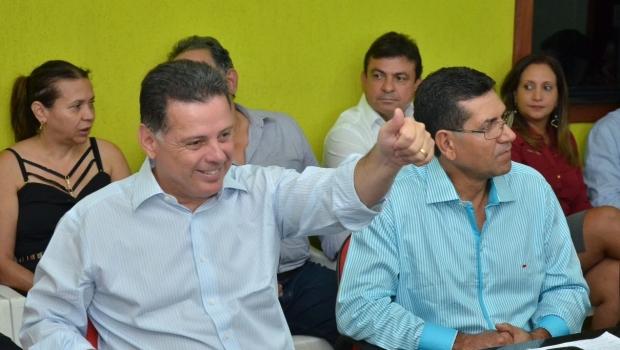 """""""Marconi é estadista de respeito, municipalista e republicano"""", diz prefeito de Novo Planalto"""