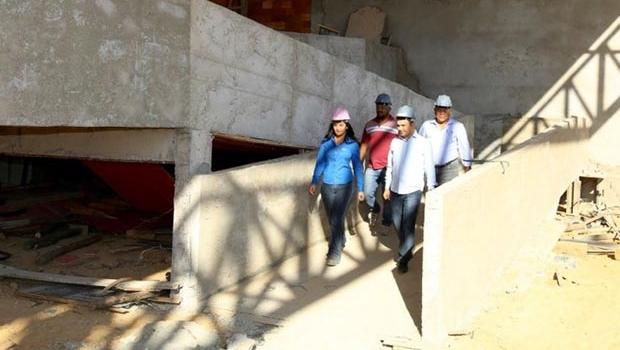 Mossoró vistoria a construção do Instituto Tecnológico de Valparaíso