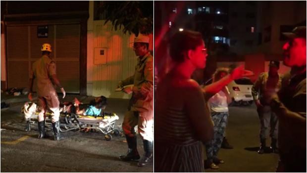 Em Goiânia, moradores desafiam polícia e saem em defesa de mendigo alvejado por PM