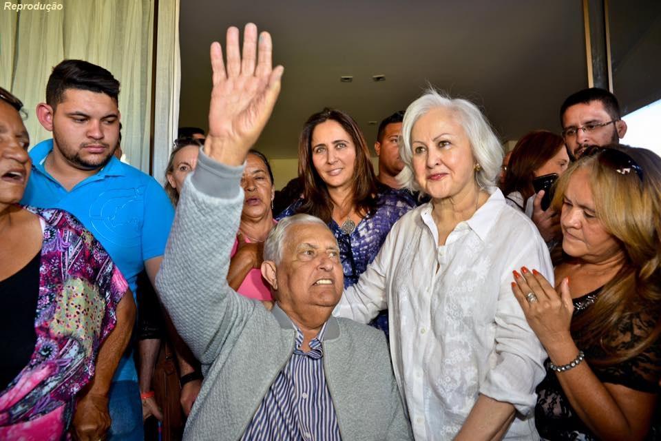 Joaquim Roriz volta a ser internado no Hospital do Coração do Brasil