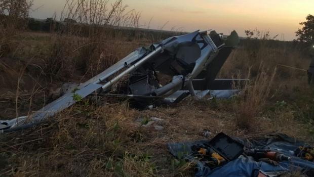 Avião com ex-senador boliviano cai em Luziânia e político está em estado grave