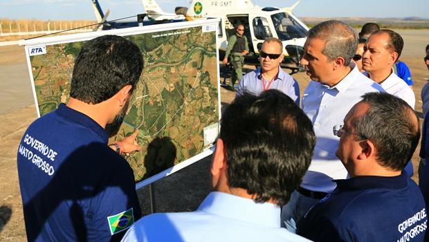 Governos acertam parceria para construção de ponte entre Goiás e Mato Grosso