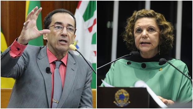 Candidatura de Kajuru a senador pode retirar Lúcia Vânia da base de Ronaldo Caiado
