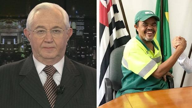 Após ofender gari, Boris Casoy é condenado a pagar R$ 60 mil de indenização