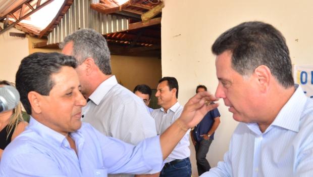 """""""Marconi é um grande líder, um grande administrador"""", diz prefeito de Buriti de Goiás"""