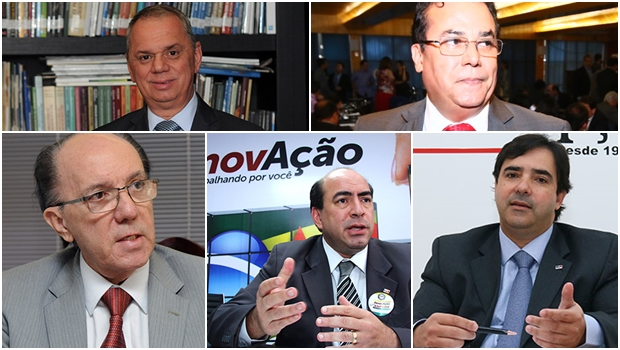 Miguel Cançado, Leon Deniz e Enil Henrique vão montar um exército poderoso contra Lúcio Flávio