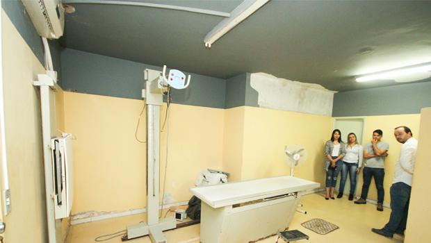 Aparelho de raios X está  sumido há 9 anos em Anápolis