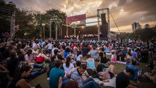 Filarmônica de Goiás leva clássicos do pop para apresentação no Parque Flamboyant