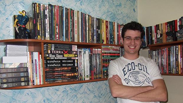 """""""Vivemos a Era de Ouro dos quadrinhos em nosso país"""", diz editor e membro  do programa Pipoca e Nanquim"""