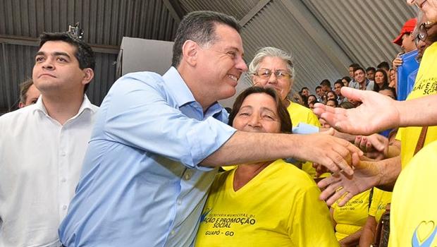Governador de Goiás fará rush de inaugurações