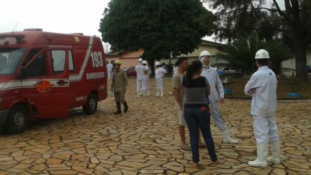 Vazamento de amônia em frigorífico goiano deixa 35 pessoas intoxicadas