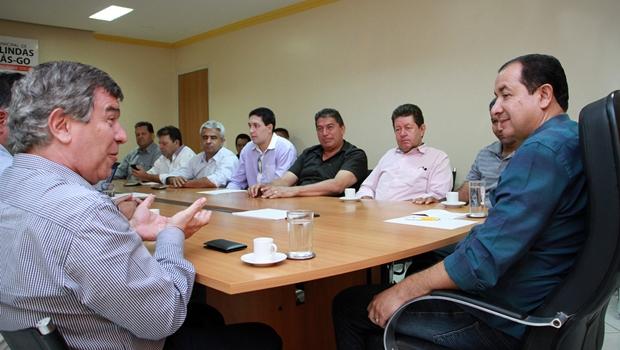 Hildo do Candango reúne prefeitos do Entorno para cobrar melhorias na Celg