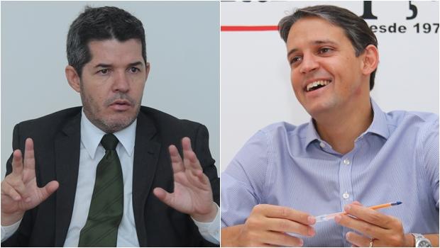 Delegado Waldir e Thiago Peixoto sãoos deputados goianos mais influentes nas redes