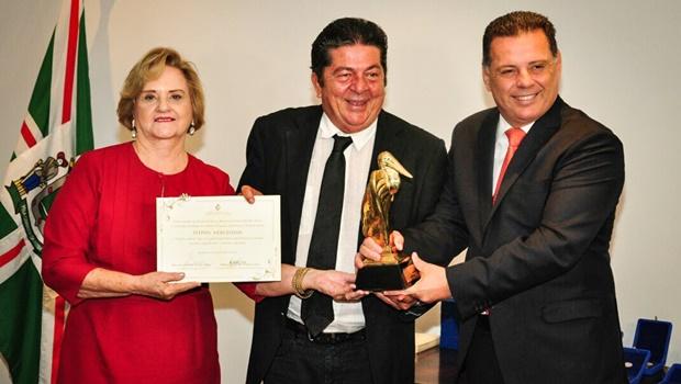 Marconi ressalta compromisso com a cultura durante entrega do prêmio Jaburu