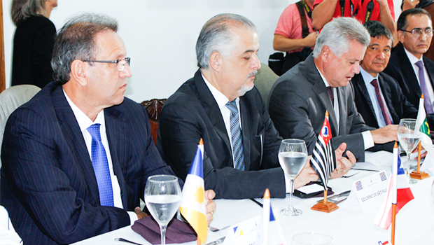Marcelo Miranda participa  de Encontro de Governadores