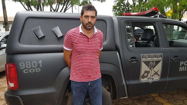 PM prende Zé Bravo, um dos principais assaltantes de banco do país