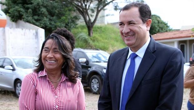 """""""Hildo do Candango é a nossa escolha para vice-governadoria"""", afirma prefeita de Novo Gama"""