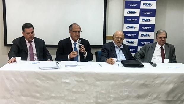 Marconi participa de primeira reunião da executiva nacional do PSDB