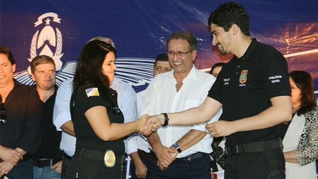 Polícia Civil de Palmas recebe veículos e armas