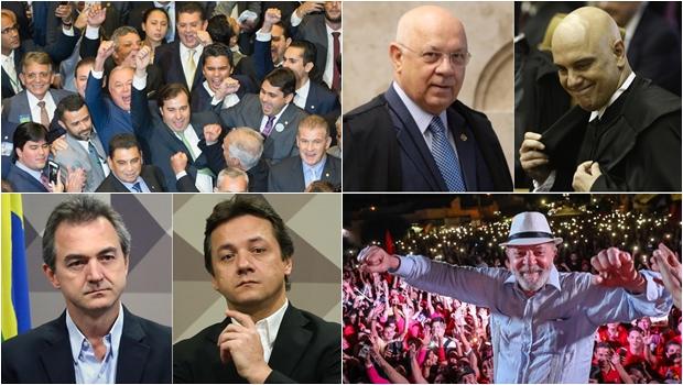 Os acontecimentos políticos que marcaram 2017