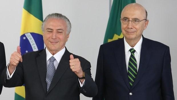 Michel Temer e o PMDB pode bancar Henrique Meirelles para presidente
