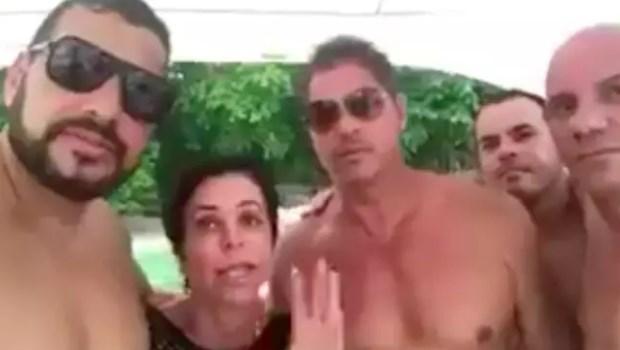 Em lancha com homens seminus, Cristiane Brasil minimiza condenação e vira piada