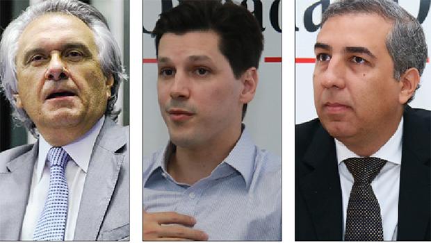 As pedras no caminho dos candidatos Daniel Vilela e Ronaldo Caiado
