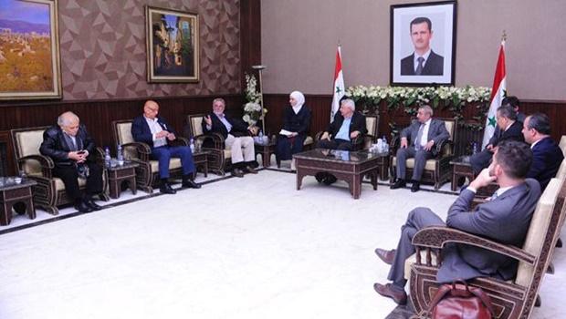 Delegação brasileira visita a Síria