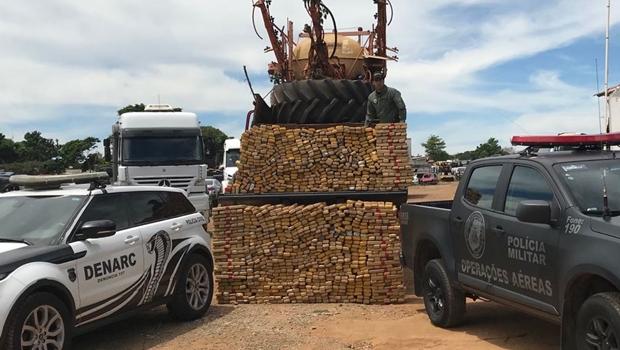 Polícia de Goiás apreende duas toneladas de maconha