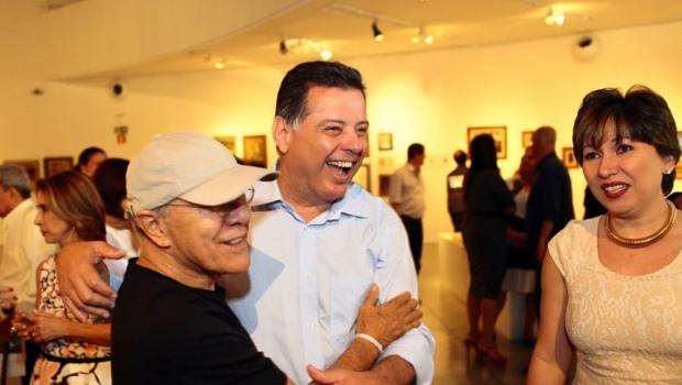 """""""Marconi é o governador que mais apoiou as artes"""", afirma Siron Franco"""