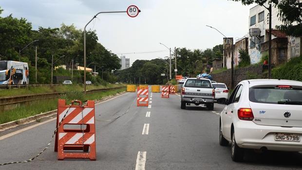 Trecho da Marginal Botafogo fica interditado no fim de semana; veja onde