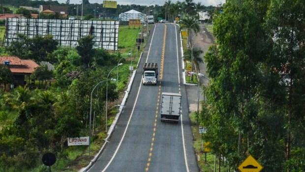 Reconstrução de trecho entre Caldas Novas e Marzagão impulsiona turismo da região