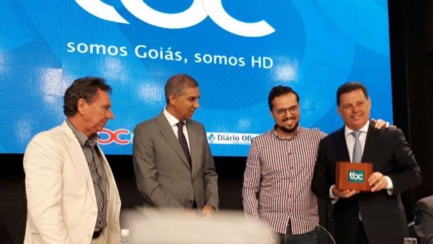 Marconi inaugura digitalização da TV Brasil Central