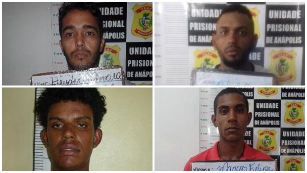 Quatro presos serram janela e fogem do presídio de Anápolis