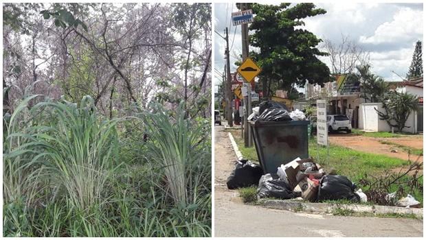 Palco do 2º Mutirão da Prefeitura, moradores reclamam de abandono do Parque Atheneu