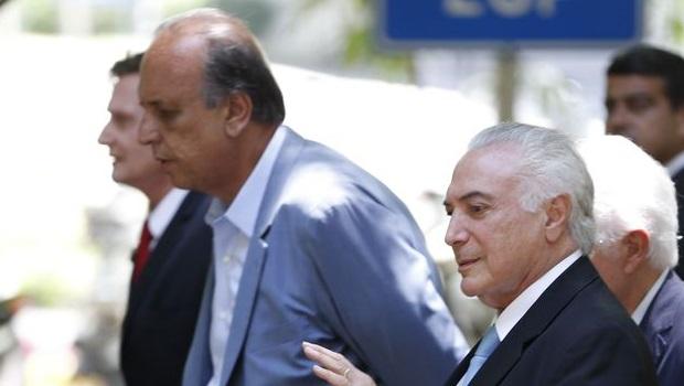 Temer se reúne com governador do Rio para acertar detalhes da intervenção
